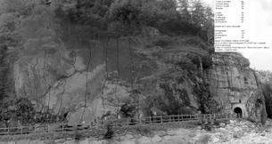 Vista della parete - Camping Acqua Fraggia