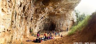 Panoramica dall'interno della grotta - Federico Catani