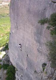 Fuori dimensione, 7a+ - Sardinia Climb