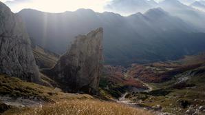Vista del torrione Mulaz,parete Nord. - Fondazione degli Amici di L. Ron Hubbard