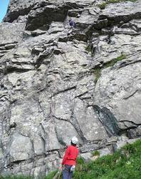 Vista della parete - Falesia online