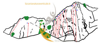 Pareti allestite da Lucania Verticale - Copyright © 2005 - 2013 Lucania Natura Verticale.