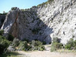 "Settore sx della ""Cava Grigia"" - Gianluca Carboni"