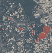 Mappa dei blocchi dei Nuraghi - La Sportiva