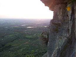 Vista parete con sotto Ninfa - Stefano Cavolata