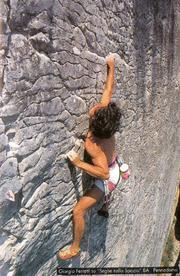 Climbing a Pennadomo - Il Krudo