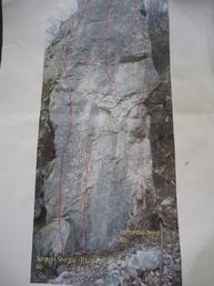 Pilastro Nascosto Versante nord-est - raticosa Climbing