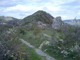 Panoramica dal sentiero d'accesso. - A. Righetti