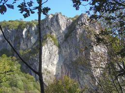 Vista della parete. - Alp Inline
