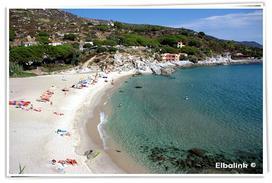 Vista spiaggia Seccheto - Elbalink