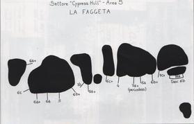 Soriano, Settore Cypress Hill Area 5 - FaceBook - Soriano boulder