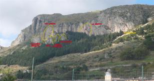 I settori della falesia di Stilo (Monte Consolino) - Luigi Filocamo