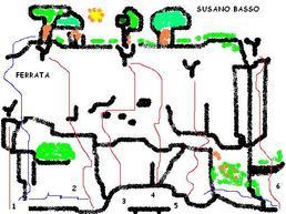 Schizzo di susano Basso - susanoclimbing