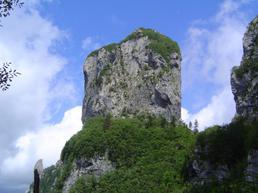 Vista del Monte Procinto - Paesia puan