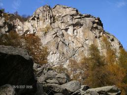 Vista della parete Alpe Costantino - www.oomaxster.it