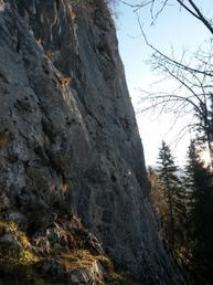 Vista della parete - Marco Arrigoni