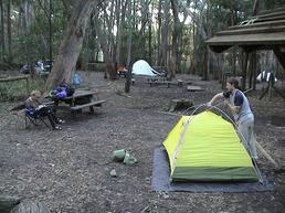 Mt Rosea camp site - www.chockstone.org