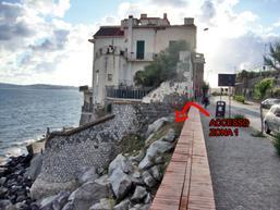 punto d'accesso per la zona 1 dei boulder - S.Bonaccia