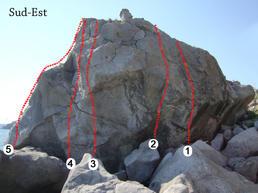 parete sud- est Scoglione  - S.Bonaccia