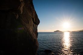 settore nord-ovest al tramonto - Sergio Morra