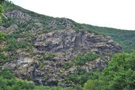 Le Rocche dell'Orbarina dalla Cava Martinotti - Enrico Ferraro, 16 Agosto 2015