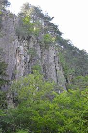 Vista della parete - Romano Broseghini