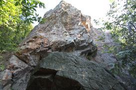 Primo settore (A) all'entrata nel bosco sopra Vezia, via alla Monda - g.poretti